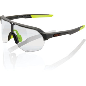 100% S2 Lunettes, soft tact cool grey/photochromic